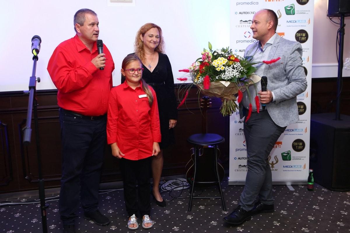 David Novotný (vpravo) na soustředění finalistů na Chateau Šanov